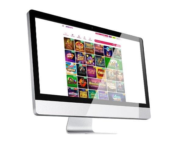 PlayKasino desktop