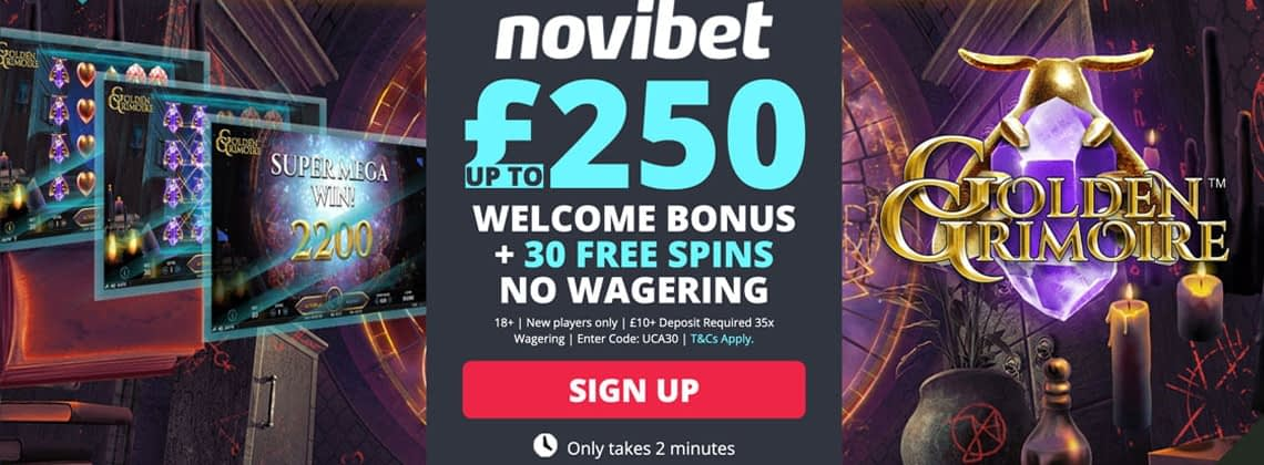 novibet UK Casino Exclusive