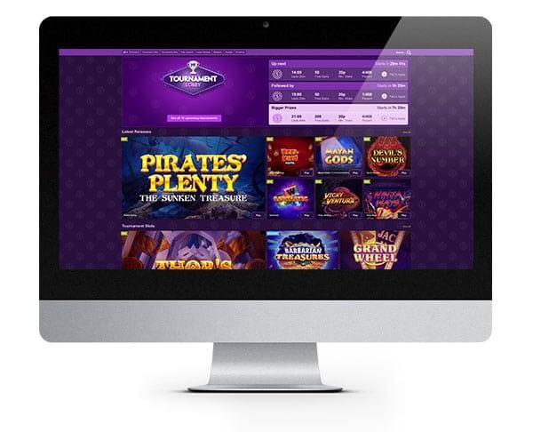 Paddy Power Vegas lobby desktop