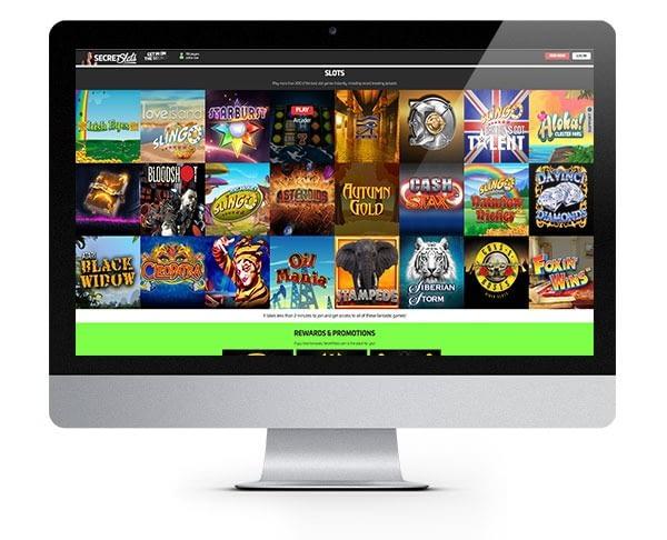 Secret Slots screenshot games