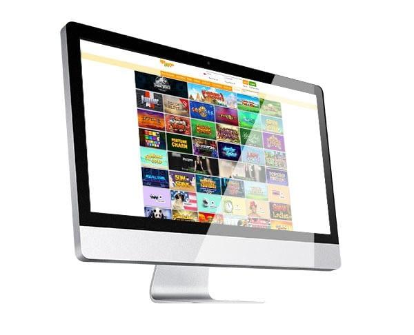 Mango Spins Casino desktop