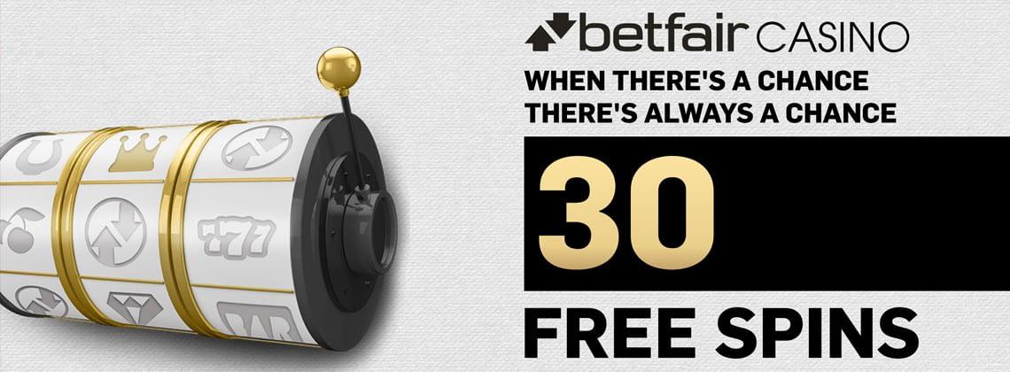 betfair casino 30 free