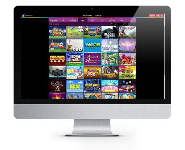 Glimmer Casino screenshot