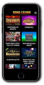 Kong Casino mobile