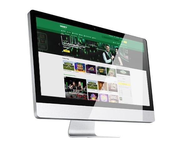 Unibet Casino desktop