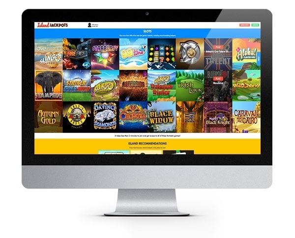 Island Jackpots desktop