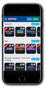 BetFred Games mobile
