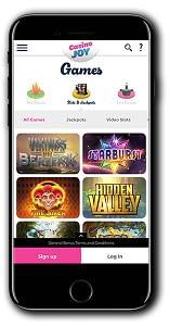 Casino Joy Bonus Spins Starburst