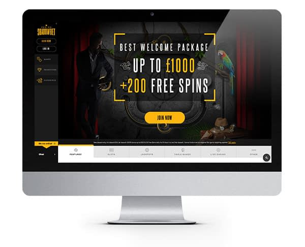 ShadowBet Casino Free Spins No Deposit