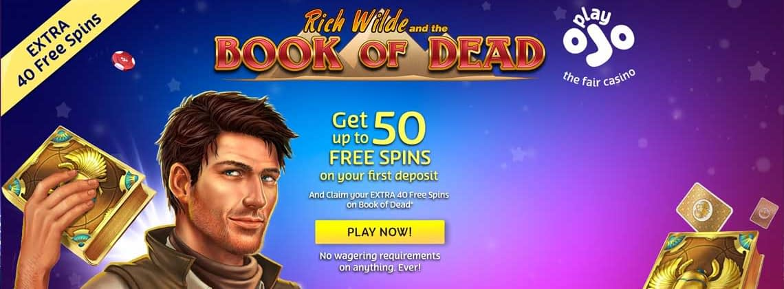 Ojo Casino exclusive free spins bonus 2019
