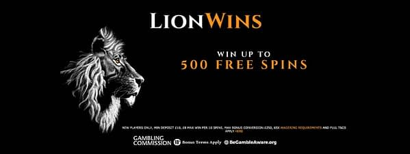 Lion Wins Casino banner