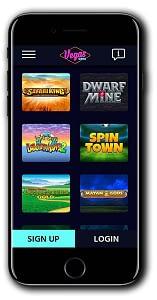 Vegas Wins Casino mobile