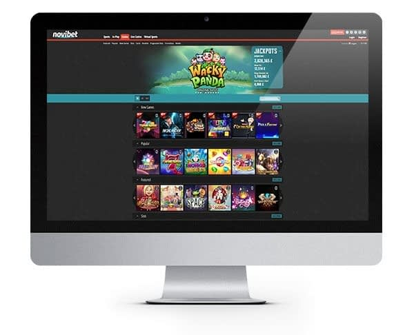 Novibet Casino Free Spins Bonus UK
