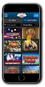 Jackpot Paradise Mobnile Casino