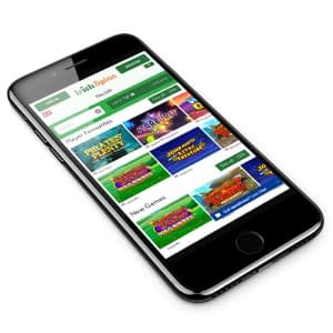 Irish Spins Casino mobile