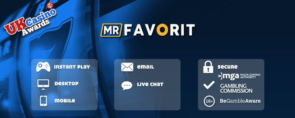 MrFavorit casino features list