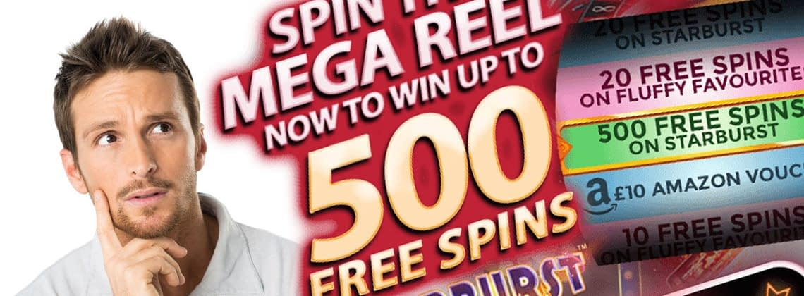 win 500 freespins
