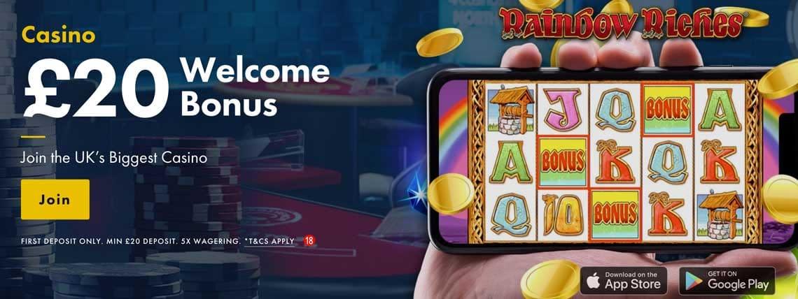 grosvenor casino 20 free