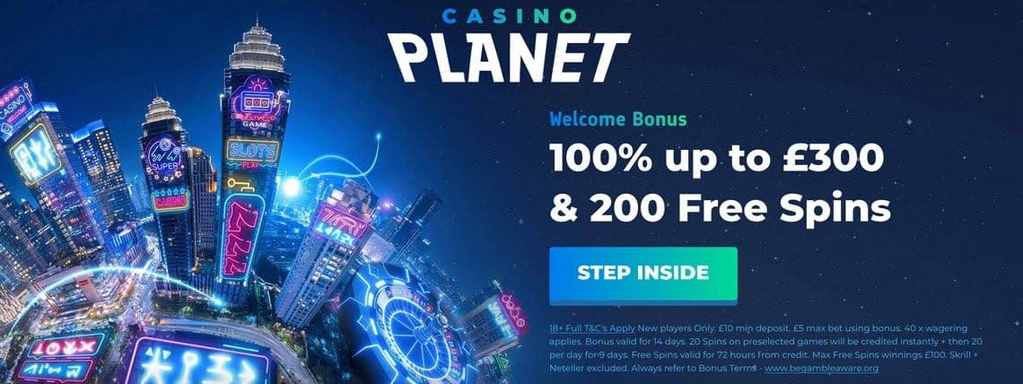 casino planet UK