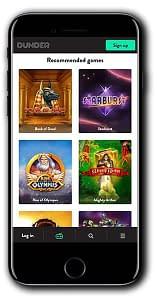 Dunder Casino No Deposit Bonus Spins