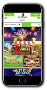 Pots of Luck Casino mobile version