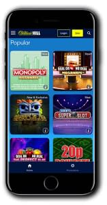 William Hill Games Mobile Casino
