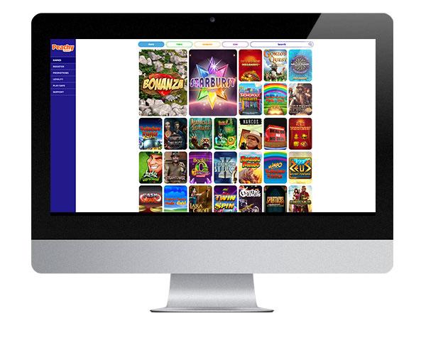 Peachy Games Desktop