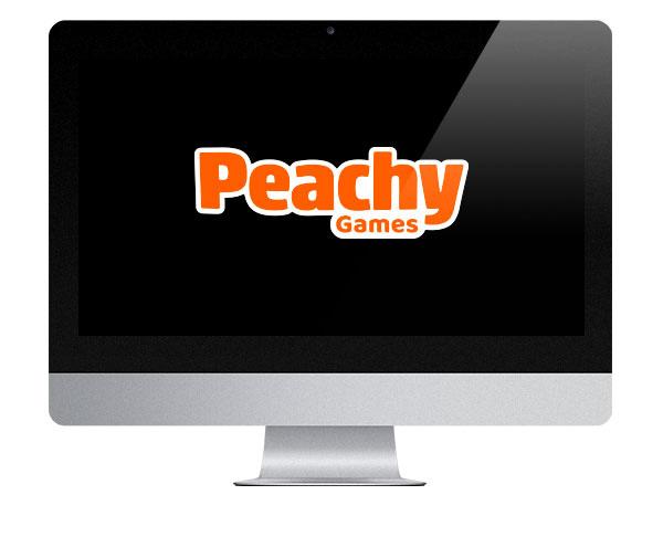 Peachy Games Logo