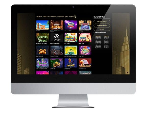Sky High Slots desktop