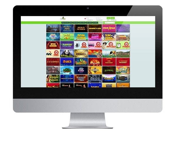 Pots of Luck Casino desktop version