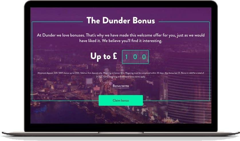 dunder  bonus 2020