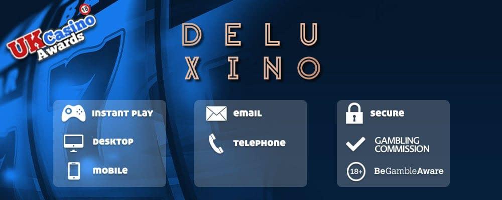 Deluxino Casino Banner