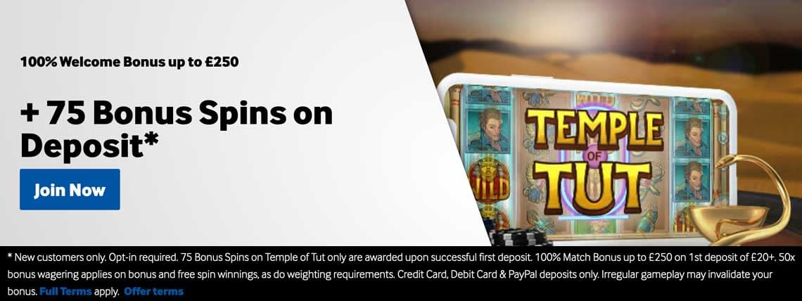 betway temple free spins