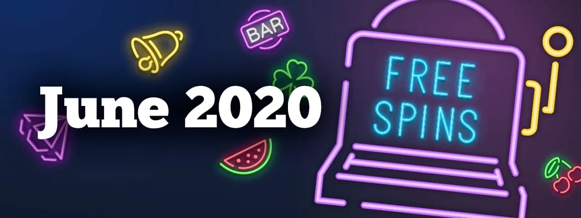 june 2020 free spins