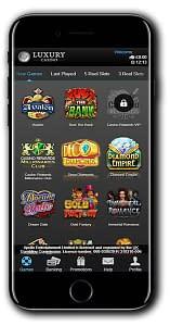 Luxury Casino mobile