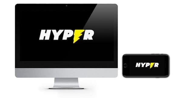NEW Hyper Casino logo screenshot