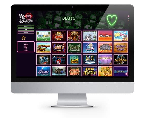 Mr Jack Vegas Casino desktop