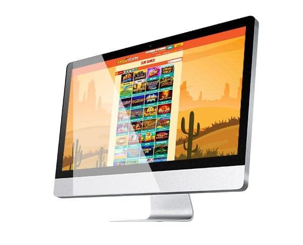 Amigo Slots Casino desktop