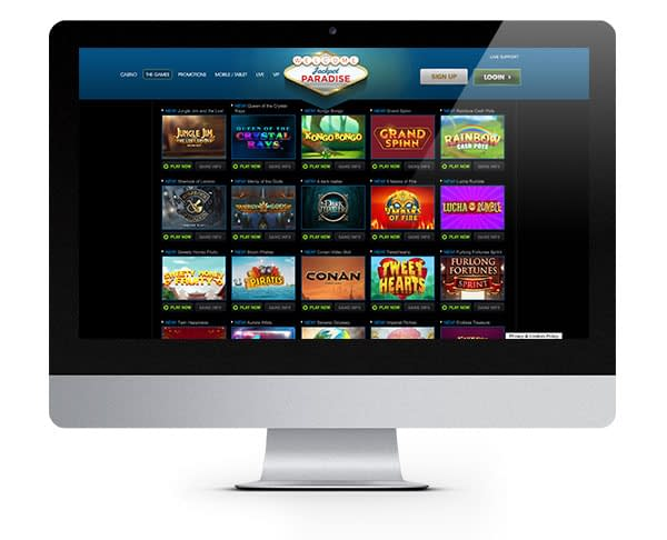 Jackpot Paradise Desktop Casino