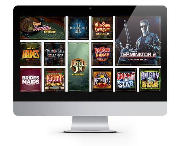 Luxury Casino desktop