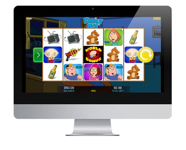 Family Guy Slot Screenshot