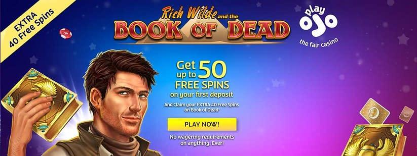 Ojo Casino exclusive free spins bonus 2019