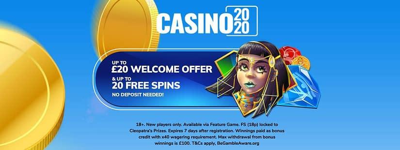 casino 2020 no deposit