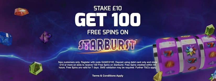 betfred 100 spins 2020