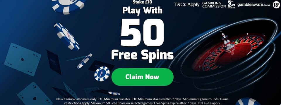 betfred casino 50 free